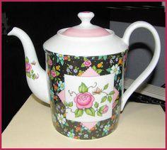 Teapot Chintz