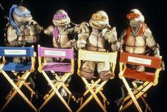 Leo, Don, Mikey, Raph