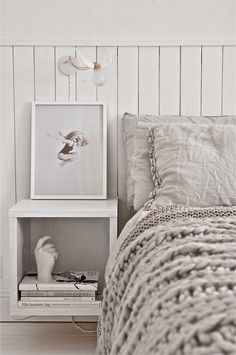 + #linen #wool #bedroom