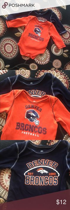 Infant NFL Bronco shirts