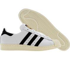 Adidas Superstar 80s (white / black1 / chalk2) 913165 - $99.99