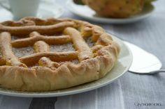 Crostata ai fichi d'india 1 Apple Pie, Waffles, India, Breakfast, Desserts, Food, Morning Coffee, Tailgate Desserts, Apple Cobbler