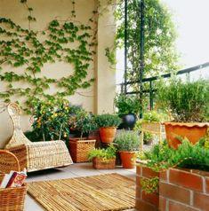 Terrassengestaltung - Ideen für die Terrasse - Terrassenbepflanzung - kreative Terrasse
