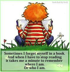 lost in a book...