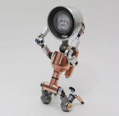 Desk Light Lamps Decor Lighting Table Lamp Handmade Faucet Robot Light Ver.4 #Handmade