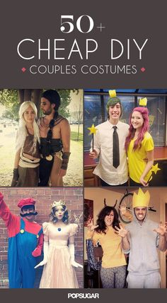 57 Cheap and Original DIY Couples Halloween Costumes #halloween #couplecostumes #diycostumes
