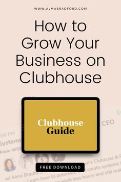 Clubhouse is an excellent platform to get paying clients. Download this FREE guide to learn how to share your expertise, network effectively, and convert followers into paying clients. Content Marketing Strategy, Email Marketing, Social Media Marketing, Digital Marketing, Home Based Business, Business Ideas, Online Business, How To Get Clients, Online Tutorials