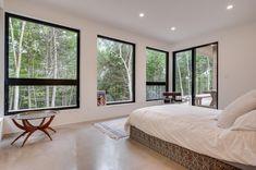 Superbe duplex construit en 2021 à Sainte-Adèle dans les Laurentides - Joli Joli Design Adele, Duplex, Windows, Design, Pretty, Puertas, Ramen, Window