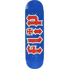 "Flip Hkd Rwb 8.25 Blue Skateboard Deck: Brand: Flip Deck width: 8.25"" NOTE: Does not come with griptape. Griptape must be ordered…"
