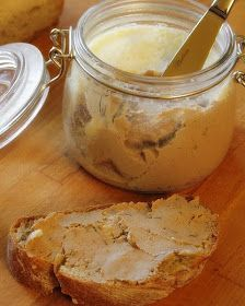 Palócprovence: Francia csirkemájpástétom Yams, Mashed Potatoes, Peanut Butter, Sandwiches, Healthy Living, Food And Drink, Pudding, Drinks, Ethnic Recipes