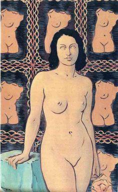 René Magritte - Surrealism - Lola de Valence 1948