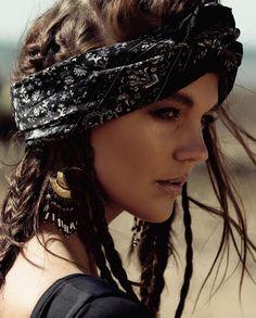 The gorgeous @danibonnor gypsy style. Miss this girl! Will need to shoot again soon! Photographer - @shaelah_ariotti Stylist - @sofielahtinen Hair and makeup - @amandaalidabarnard