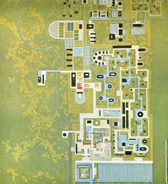 Site map/landscape from Roberto Burle Marx