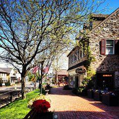 A sunny, spring day at #PeddlersVillage taken by Christina Logan.  www.centralbucksproperties.com