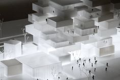 Architectural Model - COBE – Helsinki Central Library