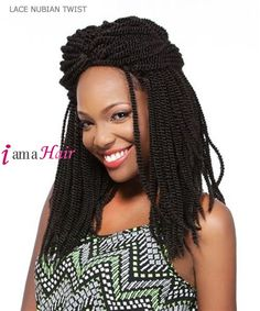 It's a wig Synthetic Futura Lace Front - LACE NUBIAN TWIST