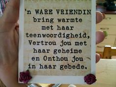 Goud vriendinne... Sister Love, Afrikaans, Good Morning Quotes, Sayings, True Friendships, Words, 50th, Sisters, Projects