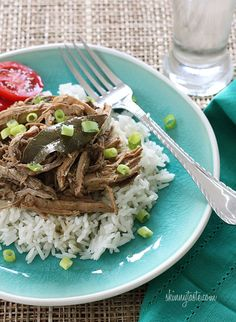 Slow Cooker Filipino Adobo Pulled Pork | recipe from Skinnytaste