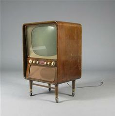 A very early Bang & Olufsen TV we imported from denmark…