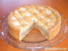 Fyrstekake er nøttekaken nr 1 i Norge! Desserts To Make, No Bake Desserts, Cookie Desserts, Norwegian Cuisine, Norwegian Food, Baking Recipes, Cake Recipes, Norway Food, Almond Cakes
