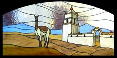Vitrales Chile, Painting, Arts Plastiques, Painting On Glass, Stained Glass Windows, Windows, Draw, Doors, Manualidades