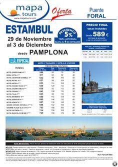Estambul Puente Foral salida Pamplona 29 Noviembre **Precio Final desde 589** - http://zocotours.com/estambul-puente-foral-salida-pamplona-29-noviembre-precio-final-desde-589/