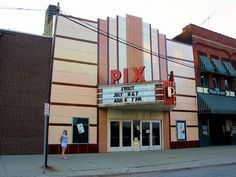 The one screened old school theater i grew up going to (first 15 yrs of my life) Pix Theater, Lapeer, MI. :)