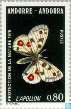 Andorra - French - Nature protection 1976