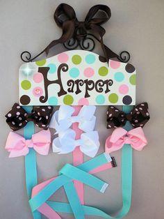 Hair Bow Holder... I love this name!!