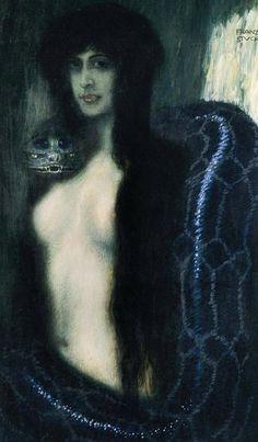 Franz von Stuck - Il Peccato - 1908