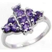 1.00ctw Genuine Amethyst & Solid .925 Sterling Silver Gemstone Ring (SJR1053A), birthstone rings. Buy Now: http://www.sterlingsilverjewelry.tv/genuine-amethyst-925-sterling-silver-gemstone-ring-sjr1053a.html #SterlingSilverJewelry #silverrings #sterlingsilverrings #ringsilver #silverringdesigns #handmaderings #silverringssterling #Rings #RingsJewelry