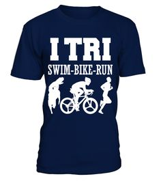 Triathlon   Triathlete bike run swim T Shirt best sport team player gift  Funny Triathlon T-shirt, Best Triathlon T-shirt