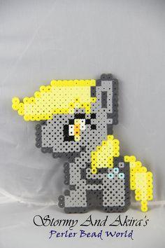 sandylandya@outlook.es  My Little Pony - Derpy Chibi perler series by Akira-The-Alicorn on deviantART