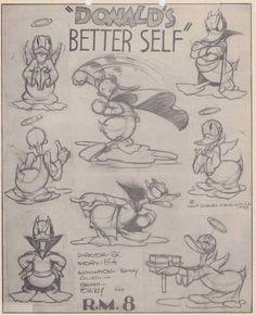 Enjoy a gallery of 100 Original Cartoons Model Sheet from Walt Disney Animation Studio, MGM & more. Animation Sketches, Cartoon Sketches, Disney Sketches, Animation Reference, Disney Drawings, Cartoon Styles, Cartoon Art, Drawing Cartoons, Character Model Sheet