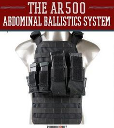 The Abdominal Ballistics System by Armor® is designed to easily integrate with already existing plate carriers that consist of PALS MOLLE webbing. Survival Life, Survival Prepping, Survival Skills, Survival Gear, Disaster Preparedness, Wilderness Survival, Buy Used Cars, Tac Gear, Gear 3