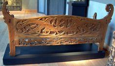 Kungsara bench detail