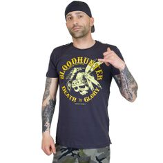 Yakuza Premium T-Shirt Death vs Glory dunkelgrau ★★★★★
