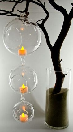 Candles Light Tree