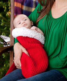 Holiday Baby Cocoon