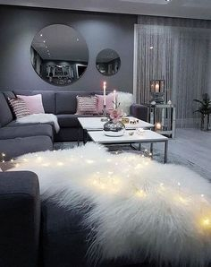 This ultimate female bedroom bedroom decor cute after h . - This ultimate feminine bedroom bedroom decor cute after home p - Living Room Decor Cozy, Home Living Room, Apartment Living, Living Room Designs, Apartment Design, Apartment Interior, Apartment Ideas, Cool Room Decor, White Apartment