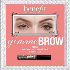 DONNEZ-MOI DES SOURCILS VOLUMINEUX : GIVE ME BROW BENEFIT. - Cosmeetic