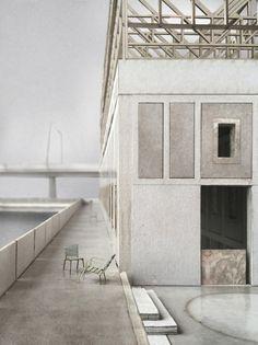 Impressive Architecture Model For You – Design and Decor Landscape Architecture Portfolio, Creative Architecture, Wood Architecture, Minimalist Architecture, Architecture Details, Architecture Diagrams, Portfolio Design Layouts, Layout Design, Design Ideas