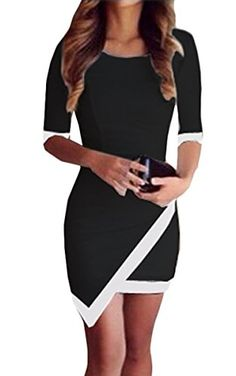 FINEJO Sexy Ladies Celeb Slim Fashion Bodycon Party Cocktail Evening Dress Black L Finejo http://smile.amazon.com/dp/B00PTL5USC/ref=cm_sw_r_pi_dp_vTDevb0SCEJRE