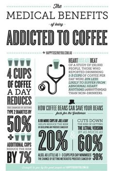 These Are the Many Healthy Benefits of Being Addicted to Coffee via Brit + Co Coffee Tasting, Coffee Drinks, Coffee Cups, Drinking Coffee, Coffee Creamer, Espresso Coffee, Coffee Facts, Coffee Quotes, Coffee Humor