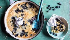 Use up those summer blueberries with this super easy cake recipe!