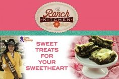 Sweet treats for Your Sweetheart on the Sure Champ Blog from The Ranch Kitchen this month!