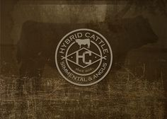Hybrid cattle logo unused