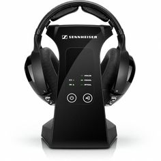 Sennheiser RS 220 - Audiophile Headphones, Wireless Headphones Digital - Stereo Dynamic Bass and Surround Sound - Ideal for Home Audio, music & TV