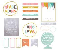 Journaling Bible | Becky Novacek | Illustrated Faith FREE PRINTABLE