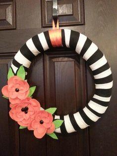 Felt Halloween/fall wreath!